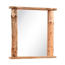 Knotty Pine Flat Top Mirror
