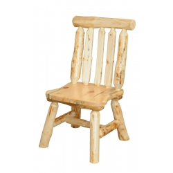 Knotty Pine Side Chair
