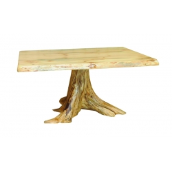 Knotty Pine Dining Table