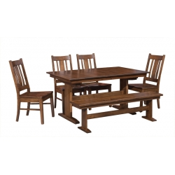 Millcreek Trestle Dining Set