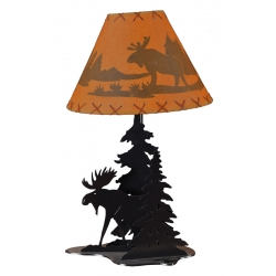 Moose Table Lamp