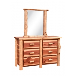 Country Classic Northwood Six Drawer Dresser