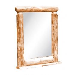 Northwood Log Top Mirror