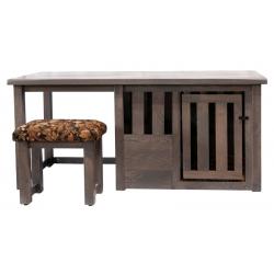 Rustic Desk Dog Crate