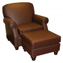 #111 Chair & Ottoman