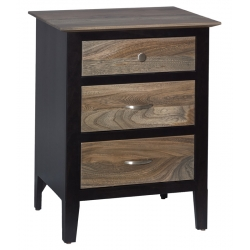 Berkeley 3 Drawer Nightstand