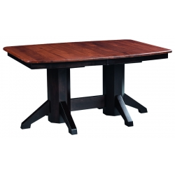 Shaker Double Pedestal Dining Table