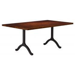 Yosemite Dining Table with Wishbone Base
