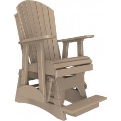 Luxcraft 2' Adirondack Balcony Glider Chair