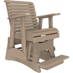 Luxcraft 2' Plain Balcony Glider Chair