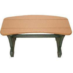 Small Oval Bench