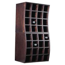 Double Stack Curved Wine Boxes