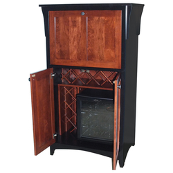 #3561 Wine Cabinet with Cooler and Wine Racks