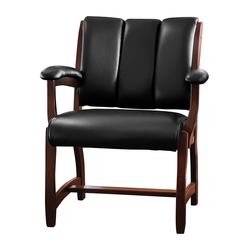 Edelweiss Client Arm Chair - Front View