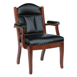 Low Back Client Arm Chair