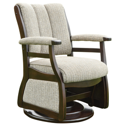 Paris Low Back Swivel Glider - Front View