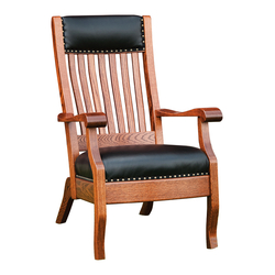 Queen Lounge Chair - Front View