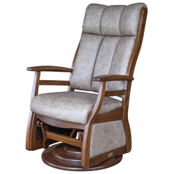 Sierra High Back Swivel Glider - Front View
