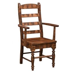 Brooklyn Country Ladder Arm Chair