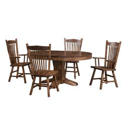 Hoosier Round Dining Set