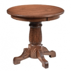 Heritage Round End Table