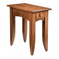 Modern Mission End Table - 13""