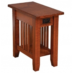 Old World Mission End Table - 13""