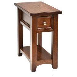 "Open Garnet Hill End Table - 13"""