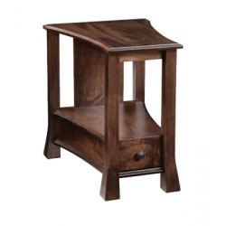 Willow Wedge End Table