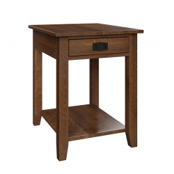 Wright Mills End Table