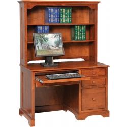 Elegance Economy Computer Desk with Hutch