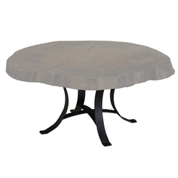 Golden Gate Coffee Table Base - Single Pedestal
