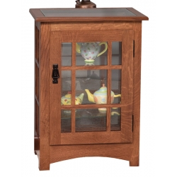 Mission Console End Table