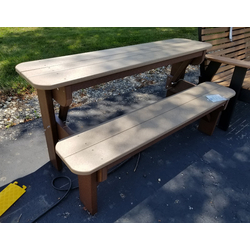 5' Folding Table/Bench