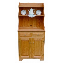 Open Top Microwave Hutch