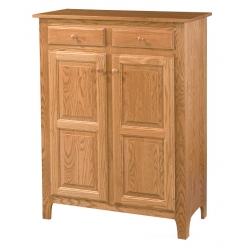 """Classic Pie Safe - 35"""" Wood Doors"""