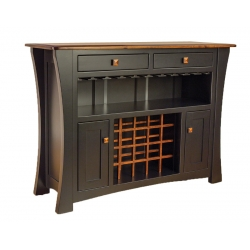 Arts and Crafts Bar Cabinet