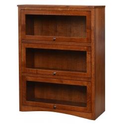 3-Door Lawyer's Bookcase
