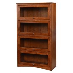 4-Door Lawyer's Bookcase