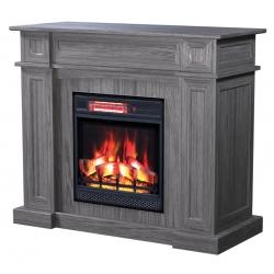"Hamilton Electric Fireplace Cabinet - 48"" Width - Antique Slate"
