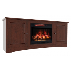 Classic Traditional Electric Fireplace Cabinet