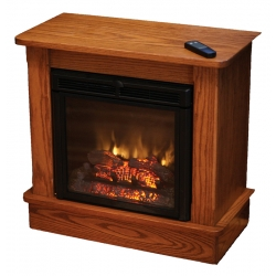 "Seneca Electric Fireplace Cabinet - 28""H"