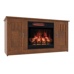 Sierra Mission Electric Fireplace Cabinet
