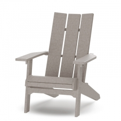 Daybreak Parc Adirondack Chair - Weatherwood