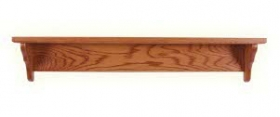 Oak Shelf - Straight Back