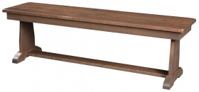 "60"" Ragal Pedestal Bench"