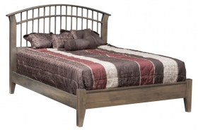 Choices Dowel Bed with Low Footboard