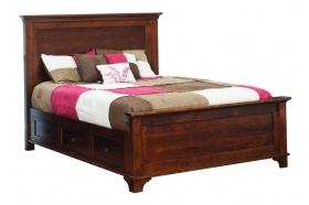 Arlington Panel Bed w/Drawer Units