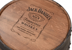 Whiskey Barrel Table Geitgey S Amish Country Furnishings