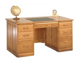 Traditional Double Pedestal Desk